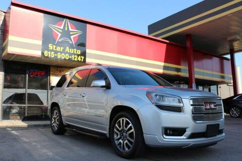2013 GMC Acadia for sale at Star Auto Inc. in Murfreesboro TN
