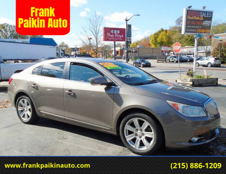 2011 Buick LaCrosse for sale at Frank Paikin Auto in Glenside PA