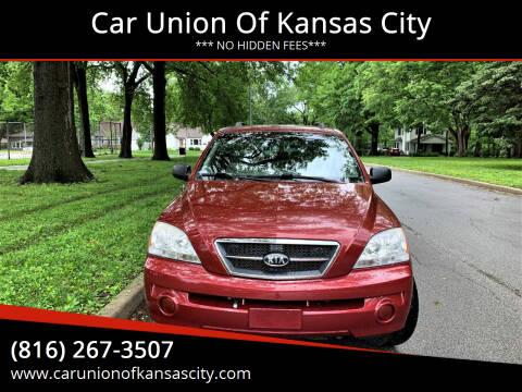 2006 Kia Sorento for sale at Car Union Of Kansas City in Kansas City MO