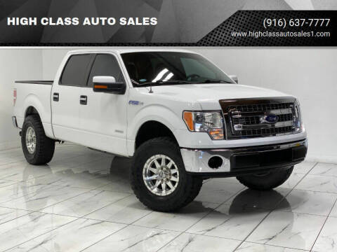 2013 Ford F-150 for sale at HIGH CLASS AUTO SALES in Rancho Cordova CA