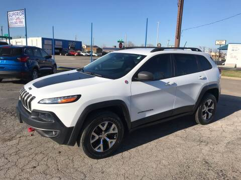 2015 Jeep Cherokee for sale at Superior Used Cars LLC in Claremore OK