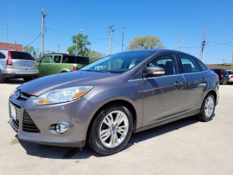 2012 Ford Focus for sale at EURO MOTORS AUTO DEALER INC in Champaign IL