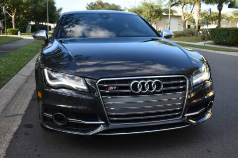 2013 Audi S7 for sale at Monaco Motor Group in Orlando FL