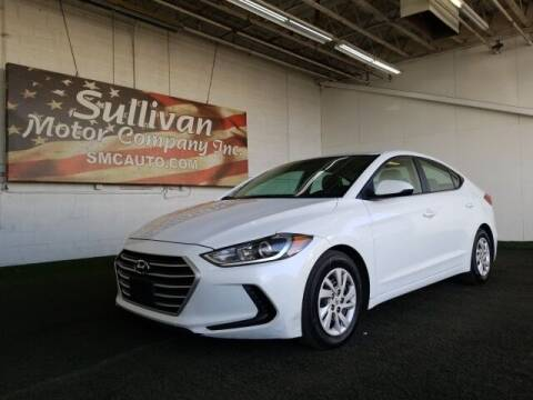 2017 Hyundai Elantra for sale at SULLIVAN MOTOR COMPANY INC. in Mesa AZ