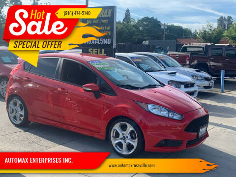 2015 Ford Fiesta for sale at AUTOMAX ENTERPRISES INC. in Roseville CA
