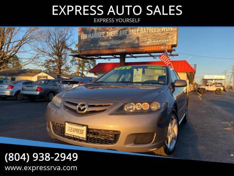 2008 Mazda MAZDA6 for sale at EXPRESS AUTO SALES in Midlothian VA