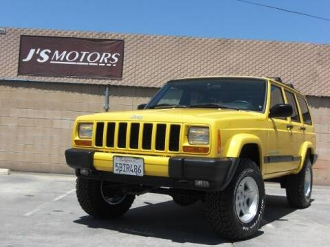 2001 Jeep Cherokee for sale at J'S MOTORS in San Diego CA