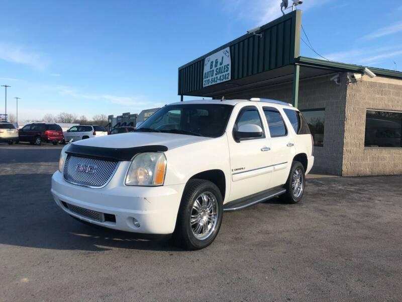 2007 GMC Yukon for sale at B & J Auto Sales in Auburn KY
