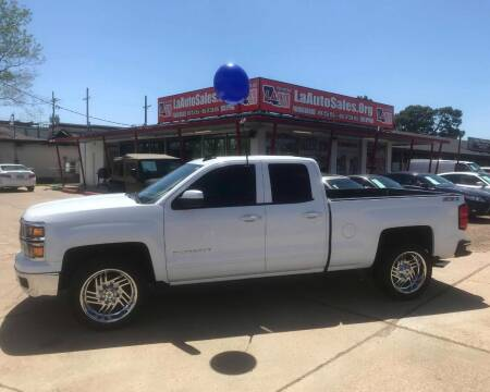 2015 Chevrolet Silverado 1500 for sale at LA Auto Sales in Monroe LA