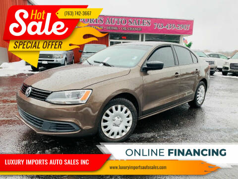 2011 Volkswagen Jetta for sale at LUXURY IMPORTS AUTO SALES INC in North Branch MN