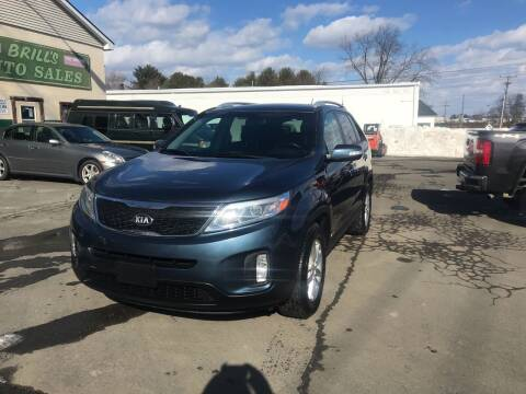 2015 Kia Sorento for sale at Brill's Auto Sales in Westfield MA