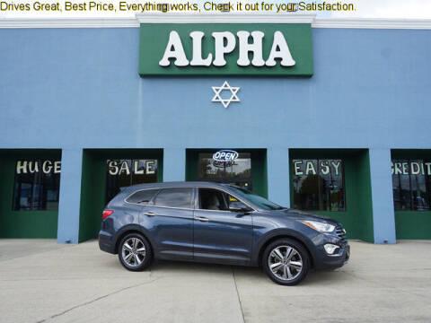 2015 Hyundai Santa Fe for sale at ALPHA AUTOMOBILE SALES, LLC in Lafayette LA