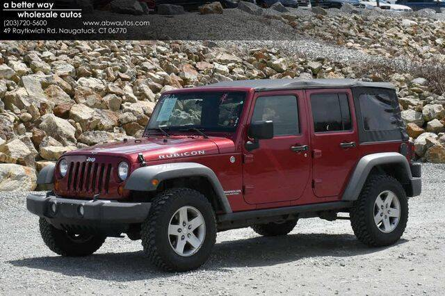 2011 Jeep Wrangler Unlimited for sale in Naugatuck, CT