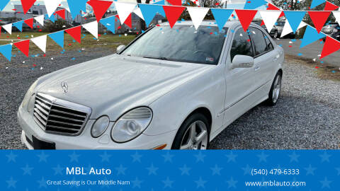 2009 Mercedes-Benz E-Class for sale at MBL Auto Woodford in Woodford VA