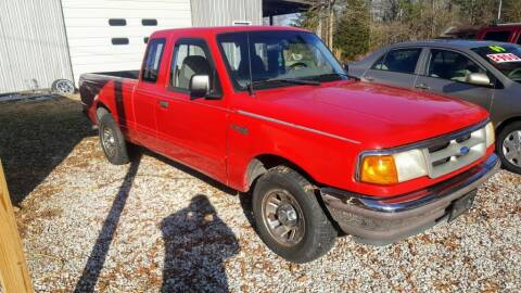 1995 Ford Ranger for sale at Victory Auto Sales LLC in Mooreville MS