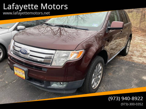 2010 Ford Edge for sale at Lafayette Motors in Lafayette NJ