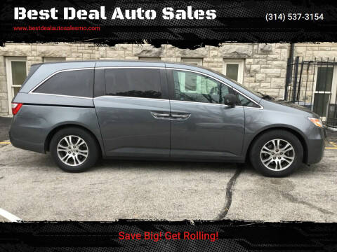 2011 Honda Odyssey for sale at Best Deal Auto Sales in Saint Charles MO