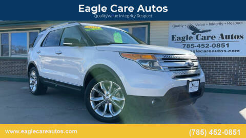2015 Ford Explorer for sale at Eagle Care Autos in Mcpherson KS