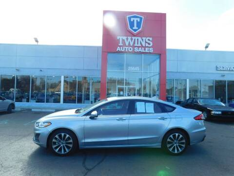 2020 Ford Fusion for sale at Twins Auto Sales Inc Redford 1 in Redford MI
