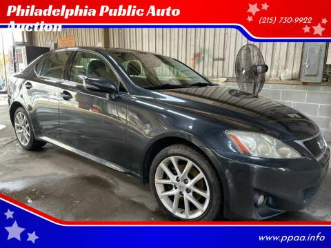 2011 Lexus IS 250 for sale at Philadelphia Public Auto Auction in Philadelphia PA