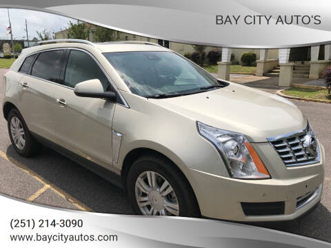 2015 Cadillac SRX for sale at Bay City Auto's in Mobile AL