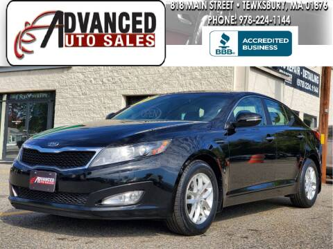 2012 Kia Optima for sale at Advanced Auto Sales in Tewksbury MA