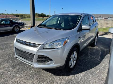 2016 Ford Escape for sale at Greg's Auto Sales in Poplar Bluff MO