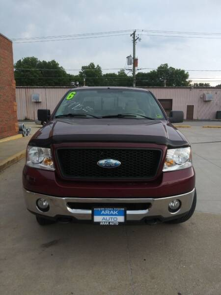 2006 Ford F-150 for sale at Arak Auto Group in Bourbonnais IL