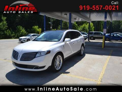 2019 Lincoln MKT for sale at Inline Auto Sales in Fuquay Varina NC