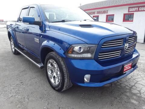 2014 RAM Ram Pickup 1500 for sale at Sarpy County Motors in Springfield NE