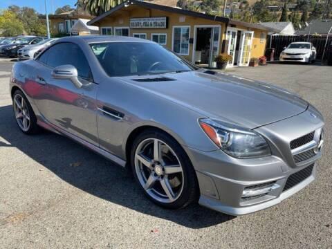 2015 Mercedes-Benz SLK for sale at MISSION AUTOS in Hayward CA