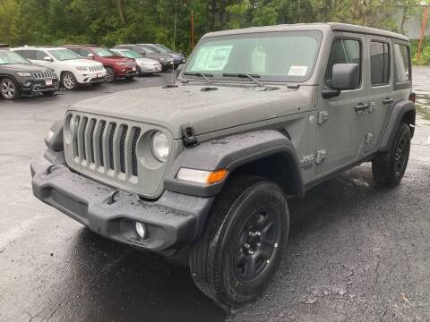 2021 Jeep Wrangler Unlimited for sale at Louisburg Garage, Inc. in Cuba City WI