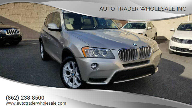 2012 BMW X3 for sale at Auto Trader Wholesale Inc in Saddle Brook NJ