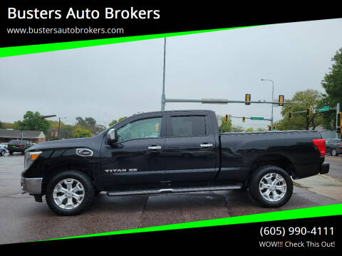 2016 Nissan Titan XD for sale at Busters Auto Brokers in Mitchell SD