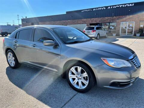 2012 Chrysler 200 for sale at Motor City Auto Auction in Fraser MI