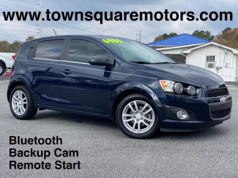 2015 Chevrolet Sonic for sale at Town Square Motors in Lawrenceville GA