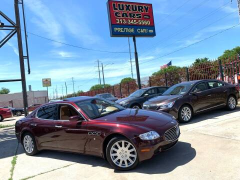 2005 Maserati Quattroporte for sale at Dymix Used Autos & Luxury Cars Inc in Detroit MI