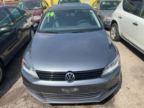 2014 Volkswagen Jetta for sale at HW Used Car Sales LTD in Chicago IL