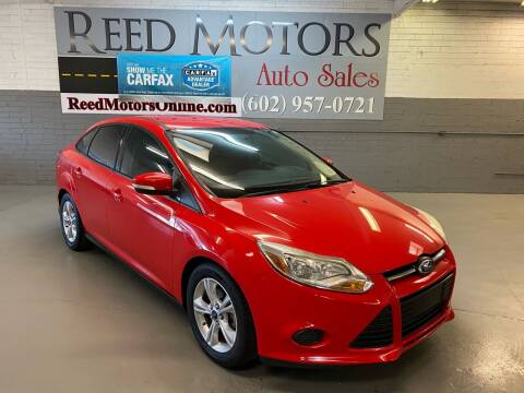 2014 Ford Focus for sale at REED MOTORS LLC in Phoenix AZ