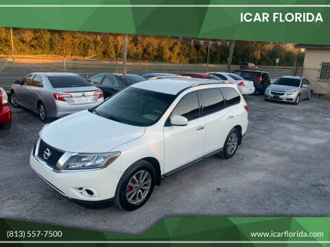 2014 Nissan Pathfinder for sale at ICar Florida in Lutz FL