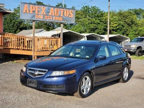 2006 Acura TL for sale at Apex Autos Inc. in Fredericksburg VA