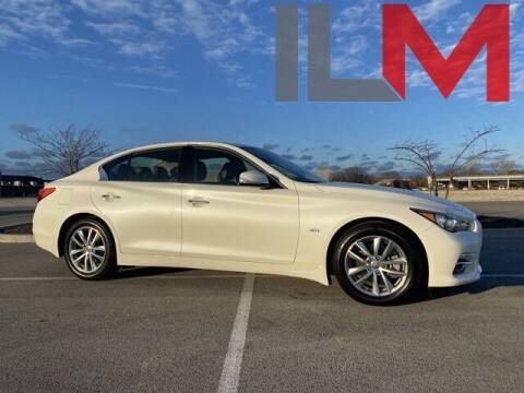 2017 Infiniti Q50 for sale at INDY LUXURY MOTORSPORTS in Fishers IN