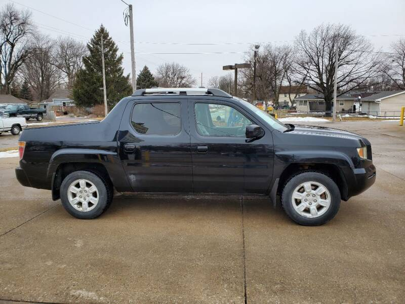 2006 Honda Ridgeline for sale at RIVERSIDE AUTO SALES in Sioux City IA