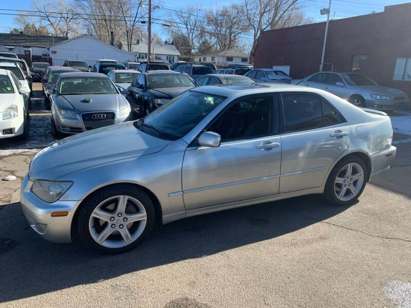 2004 Lexus IS 300 for sale at B Quality Auto Check in Englewood CO