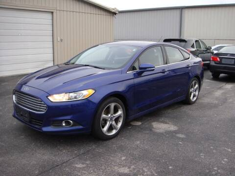 2013 Ford Fusion for sale at Driving Xcellence in Jeffersonville IN