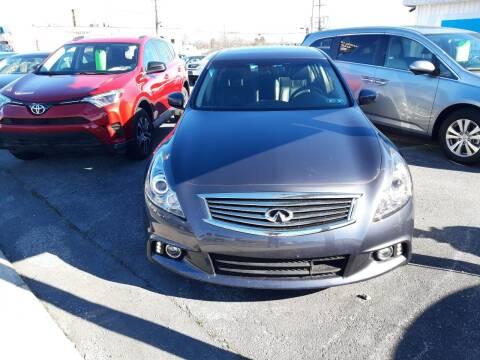 2012 Infiniti G37 Sedan for sale at Automotive Fleet Sales in Lemoyne PA
