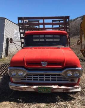 1960 Ford F-350 Super Duty for sale at Classic Car Deals in Cadillac MI