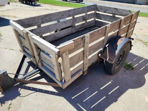 USED WOOD SIDED UTILITY for sale at ALL STAR TRAILERS Used in , NE