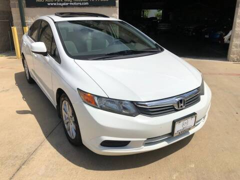 2012 Honda Civic for sale at KAYALAR MOTORS Mechanic in Houston TX
