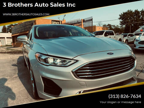 2019 Ford Fusion for sale at 3 Brothers Auto Sales Inc in Detroit MI